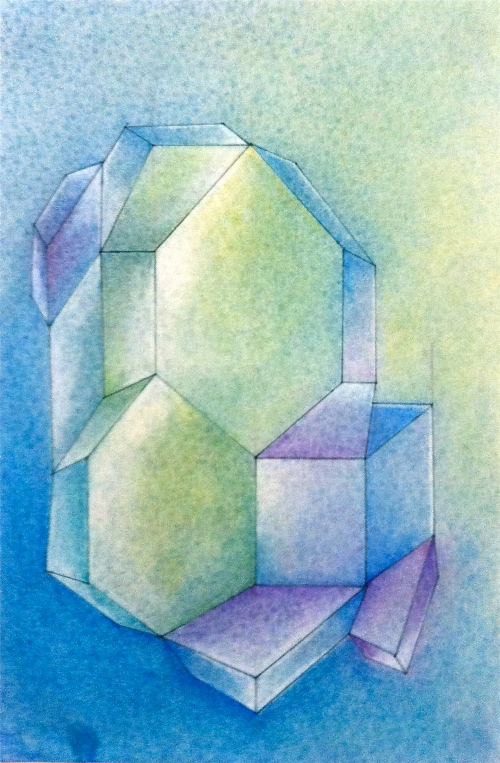suzanne stroebe, suzanne stroebe drawing, chalk pastel, pastel drawing, abstraction, geometric abstraction, oz, wizard of oz